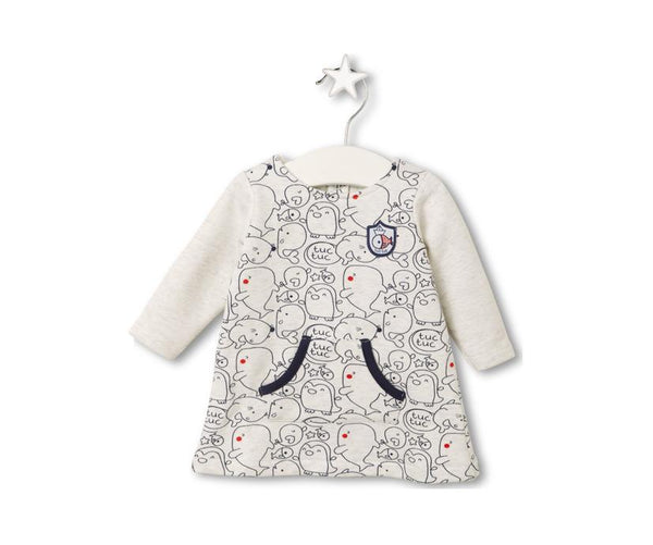 Sea Animal Friends Dress, Dresses - Little Pancakes