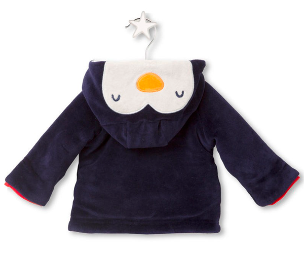 Sea Animal Friends Reversible Jacket, Jackets - Little Pancakes
