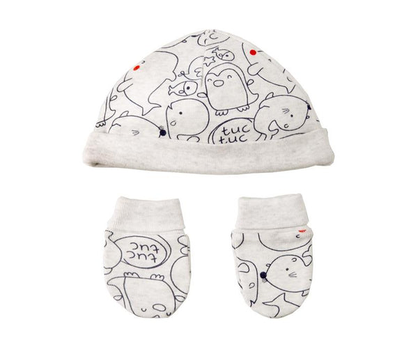 Sea Animal Friends Winter Two-Piece Set, Accessories - Little Pancakes