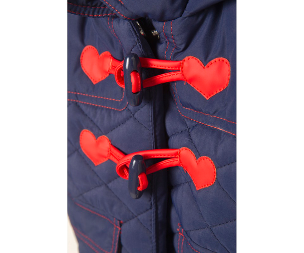 Sweet Heart Hoodie Jacket, Jackets - Little Pancakes
