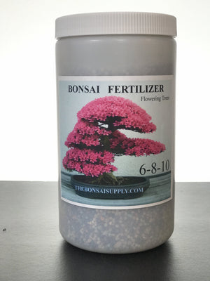 Professional slow release fertilizer for flowering Bonsai. Bloom Boost!
