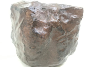 "5"", 10"" Unglazed Ceramic Bonsai Pot (Earth Brown Rock)"