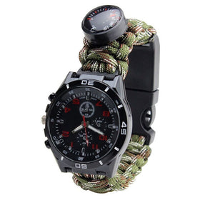 Duluxe Paracord Survival Watch