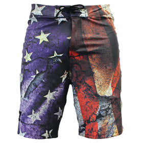 Cracked Earth Board Shorts