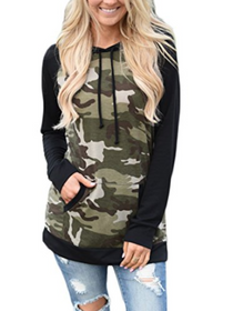Women's Camoflage Pullover Hoodie