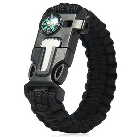 All-in-One Wilderness Survival Bracelet