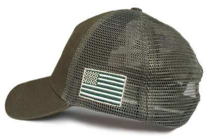 Luger Tactical Operator Army Green operator hat