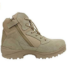 Tactical Combat Boots with CoolMax Lining (Beige)