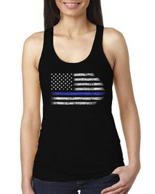 Thin Blue Line Support Racerback