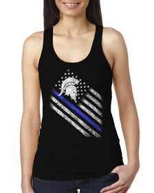Sparta Thin Blue Line Women's Tank