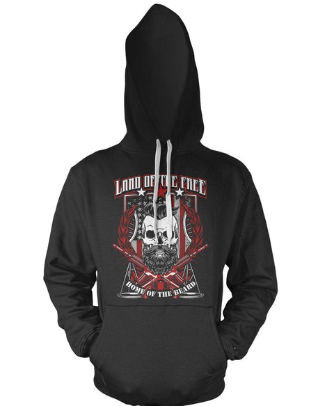 Home Of The Bearded Skull Hoodie