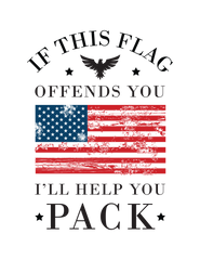 If My Flag Offends you, Then Pack Decal