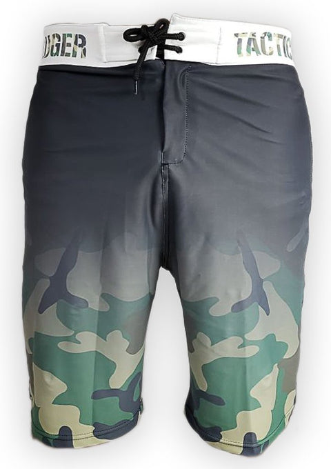 Luger Tactical Half Camo Board Shorts