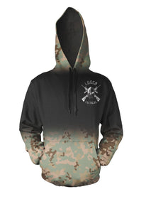Luger Tactical Battle Front Camo Hoodie
