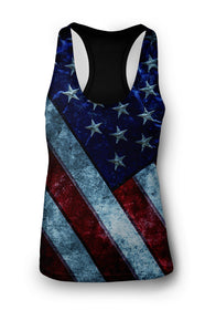 Women's America the Great Racerback Tank