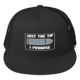 """Just the Tip"" Mesh Back Trucker Hat"