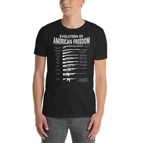 Evolution of Freedom Gun Shirt