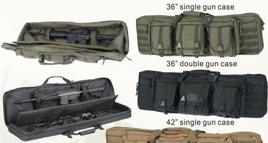"Military Tactical Style 36"" double gun Bag"