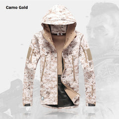 Camouflage Hooded Tactical Jacket