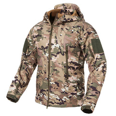 LUGER TACTICAL SHARK SKIN DESSERT V5 SOFT SHELL CAMOUFLAGE JACKET
