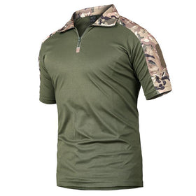 Luger Tactical Camo Wicking Polo