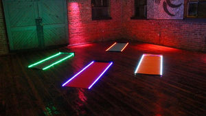GloMats - The Light Up Yoga Mats!