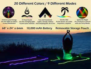 GloMats - Light Up Yoga Mat