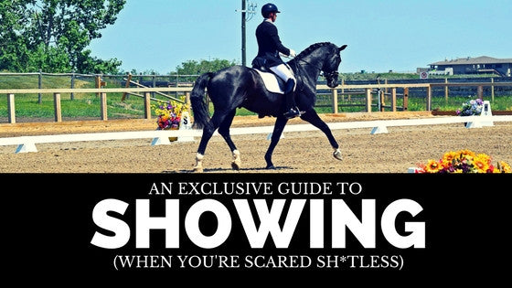 An Exclusive Guide To Showing (When You're Scared Sh*tless)