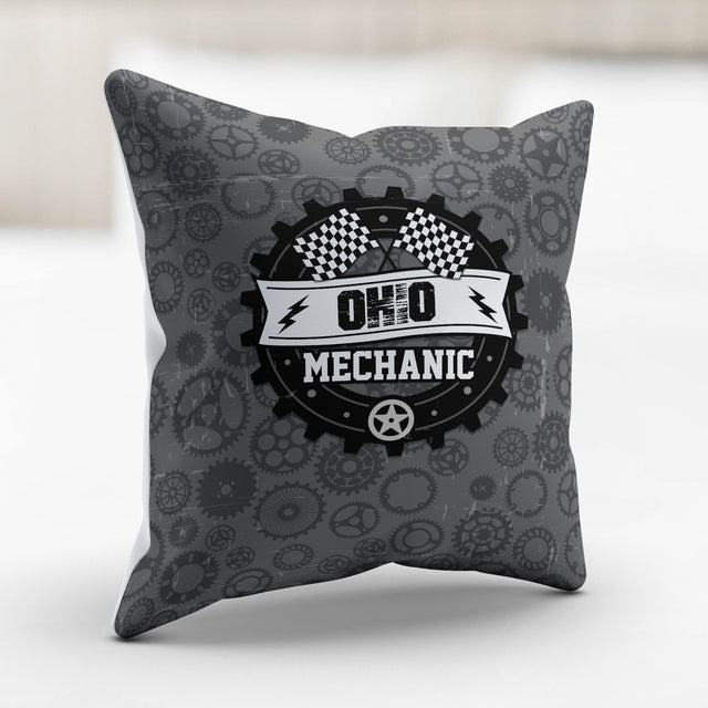 OH Mechanic Pillowcase