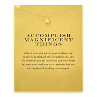 Sparkling Accomplish Magnificent Things Necklace