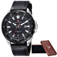 Men's Suit Watches / Black Silver