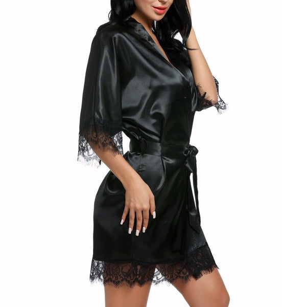 Stella Satin Robe