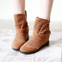 Summer Cut Out Ankle Bootie