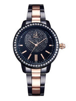 Ladies Crystal Wrist Watch