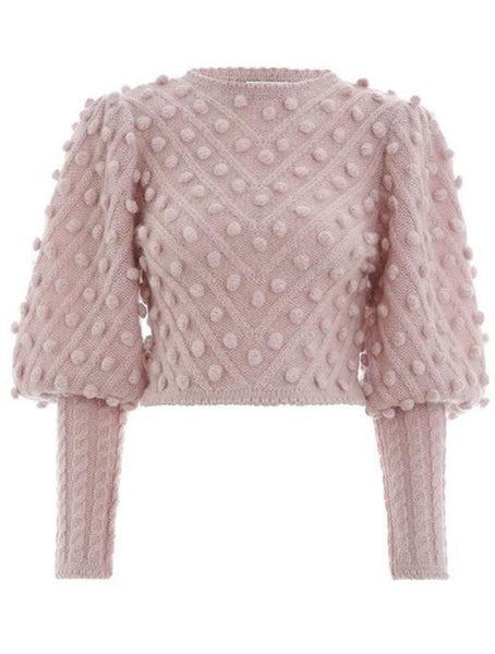 Samantha Puff Sleeve Sweater