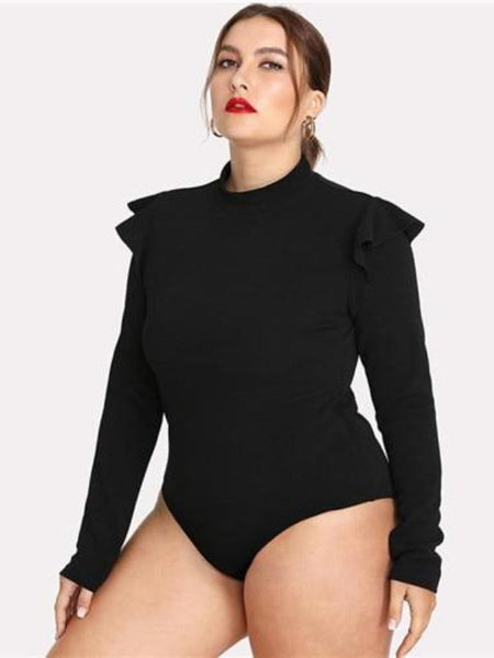 Sayler Mock Neck Bodysuit 2