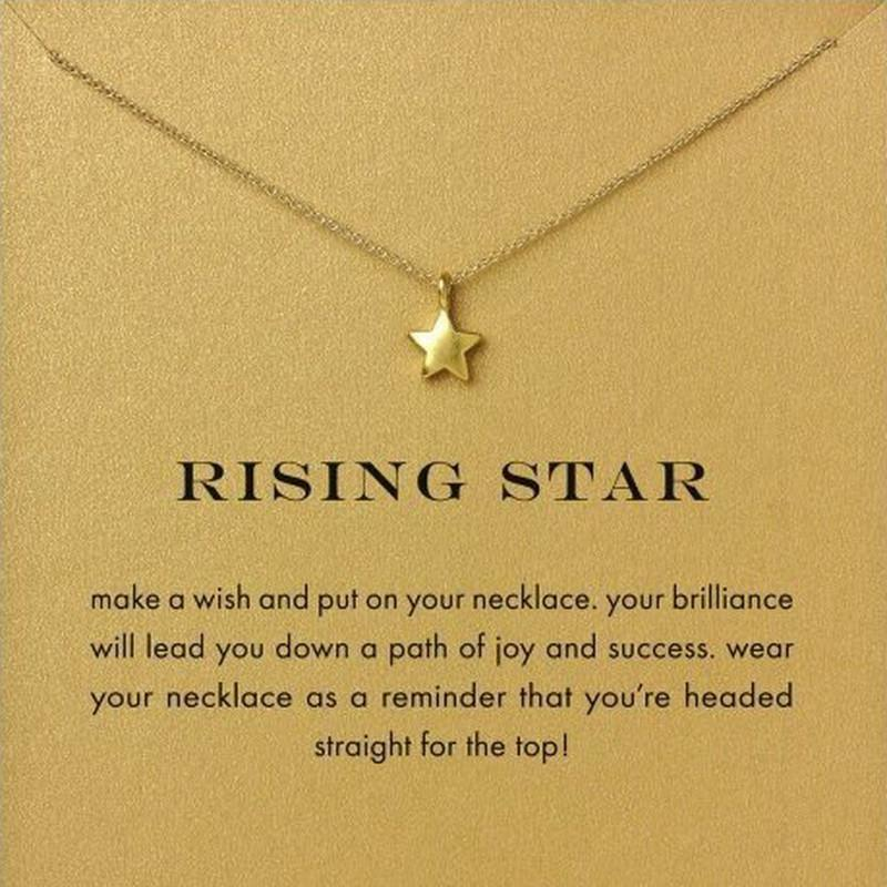 Full Star Pendant Necklace
