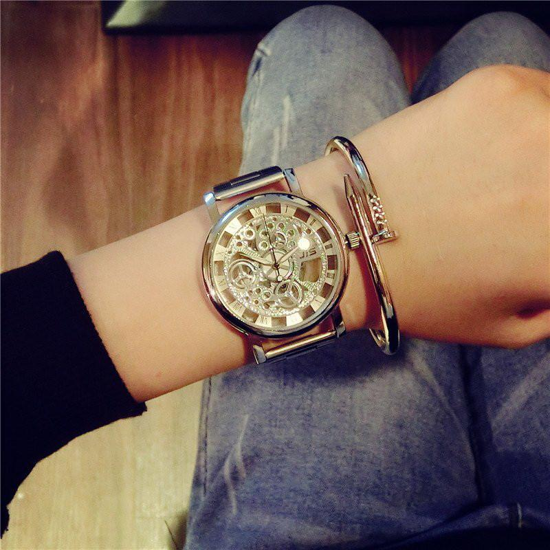 Skeleton Quartz Dress Wristwatch Special