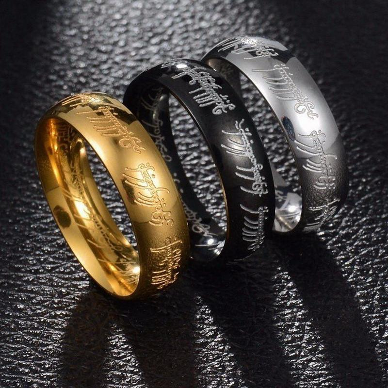 Lord Of The Rings Wedding Band