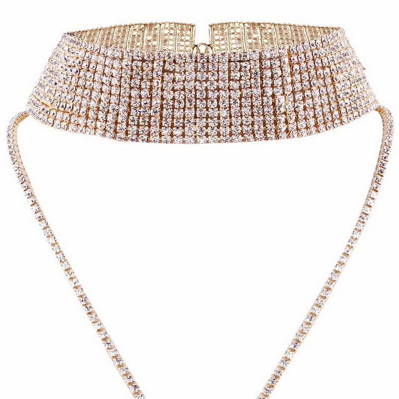 Luxury Statement Choker Necklace