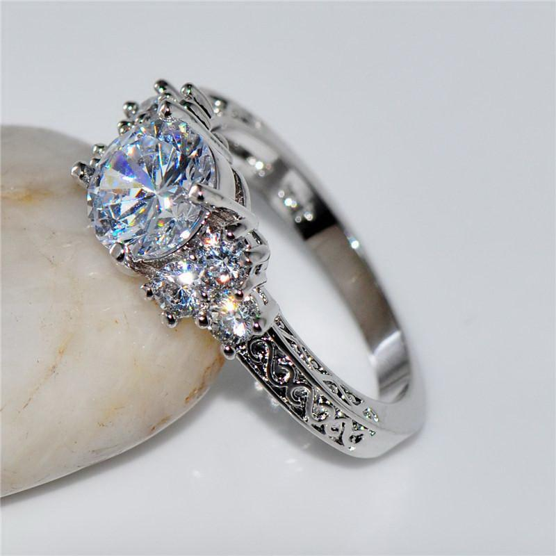 Splendid Crystal Wedding Ring Special