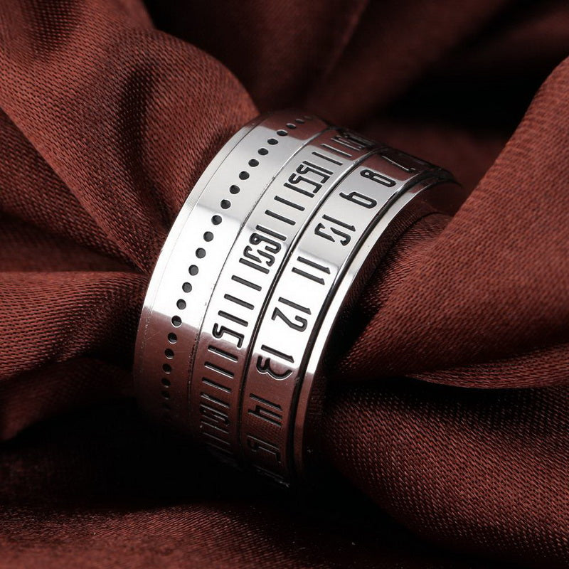 Secret Codes Rotatable Spinner Ring Special