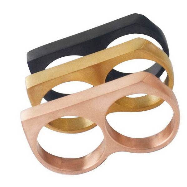 Men's Vintage Two Finger Ring