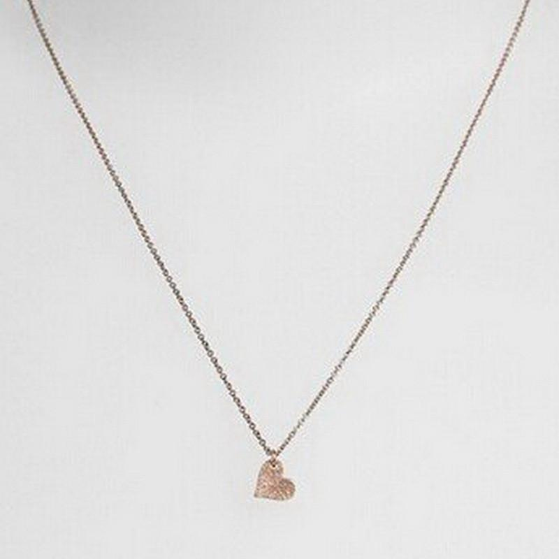 Sparkling Heart Pendant Necklace
