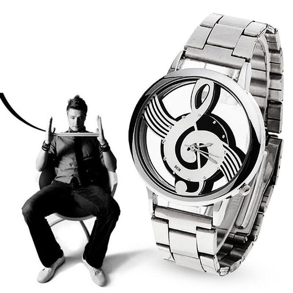 Music Note Notation Watch