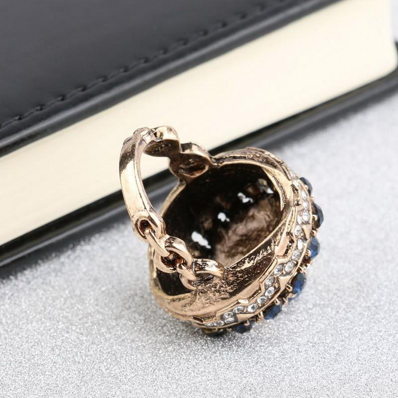The Big Lux Antique Crystal Ring