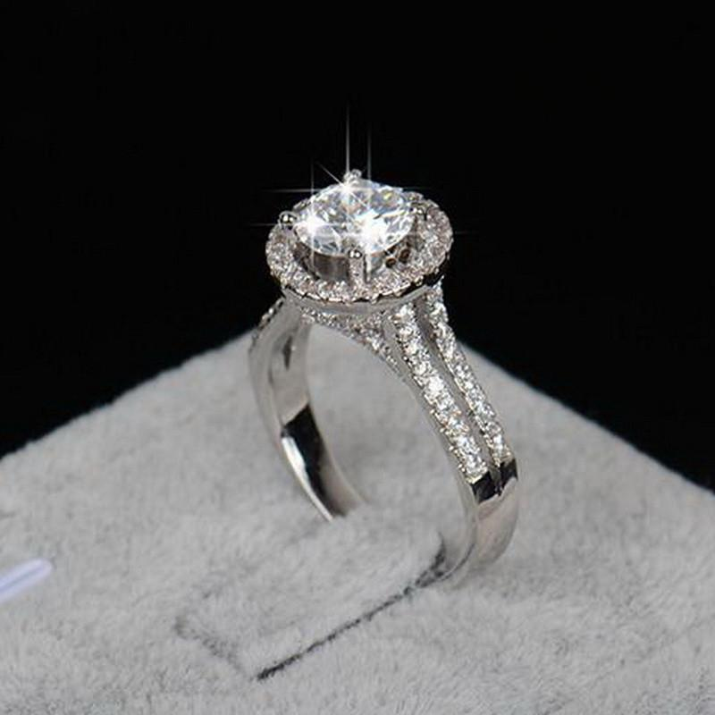 Luxury Zircon Engagement Ring Special