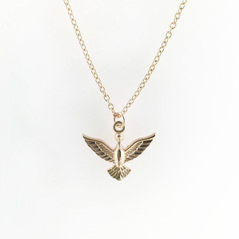 Forever Summer Love Pigeon Pendant Necklace Special