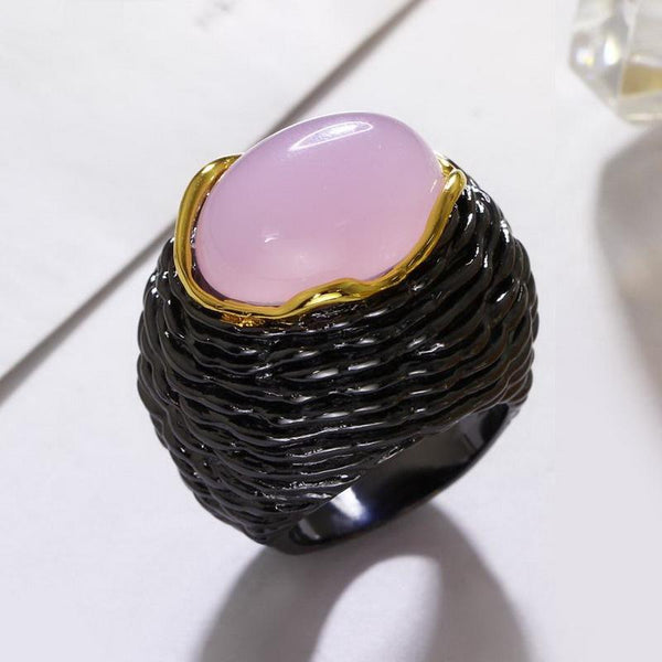 Elegant Hyperbole Cocktail Ring