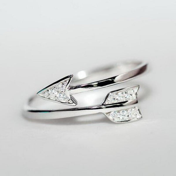 925 Silver Cupid Arrow Ring